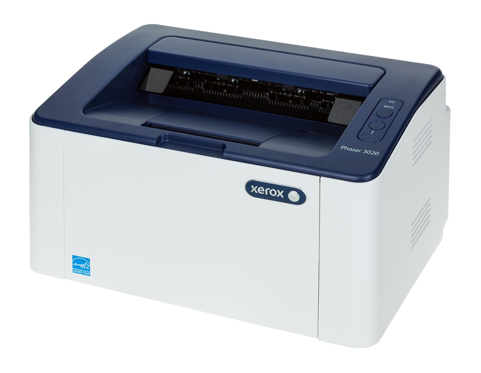רק החוצה מדפסת ליזר אלחוטית Xerox Phaser 3020 - מדפסת - אתר המדפסות של ישראל WR-45
