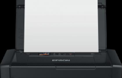 מדפסת ניידת הקטנה ביותר בעולם של חברת אפסון